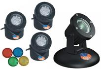Osvětlení, podvodní reflektory